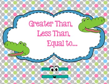 **Greater Than Less Than Equal To**