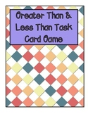 Greater Than, Less Than & Equal To Card Game