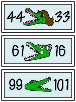 Greater Than, Less Than, & Equal To: Comparing Numbers within 120