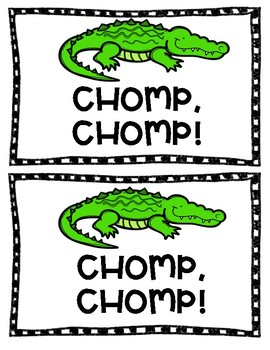 Greater Than, Less Than, Equal To MATH GAME - CHOMP, CHOMP!