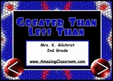 Greater Than Less Than Equal To SMART Notebook Lesson