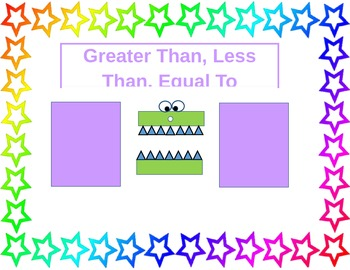 Greater Than, Less Than, Equal To War Game