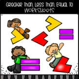 Greater Than, Less Than, Equal To Worksheets