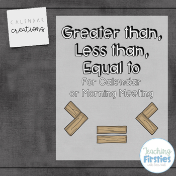 Greater Than, Less Than, Equal to Posters