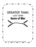 Greater Than, Less Than Game of War