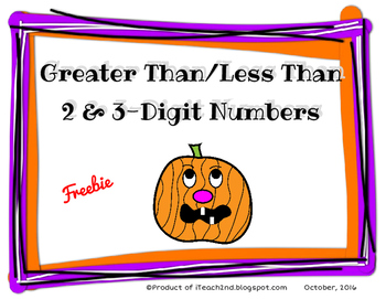 Greater Than, Less Than Halloween