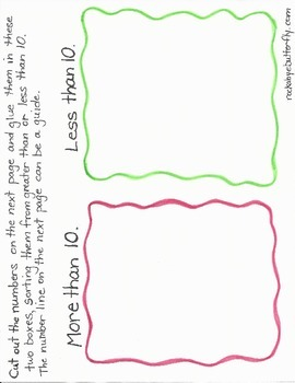 Greater Than, Less Than Hand-Drawn Printables #2