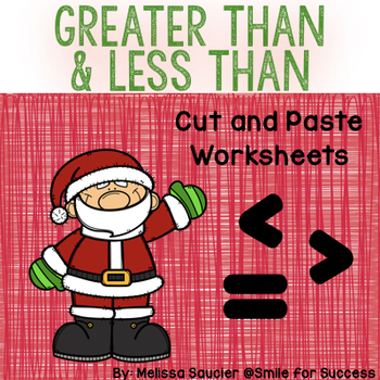Greater Than & Less Than { Holiday Freebie!}