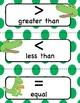 Greater Than Less Than Math Center