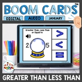 Greater Than Less Than Math Digital Task Cards Boom