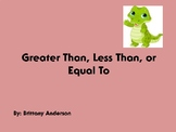 Greater Than, Less Than, Or Equal To