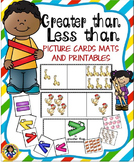 Greater Than-Less Than Picture Cards and Printables
