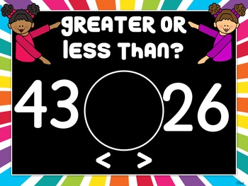 Greater Than Less Than Powerpoint Game (More Than 20)