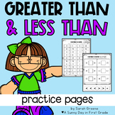 Greater Than, Less Than Printables