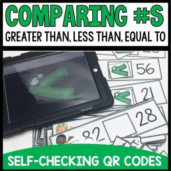 Greater Than Less Than QR Codes