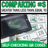 Greater Than Less Than and Equal To QR Codes