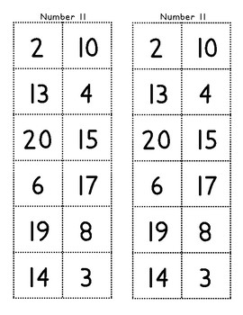 Greater Than, Less Than Teen Numbers Sort