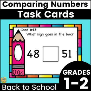 Greater Than, Less Than, or Equal To?  >,