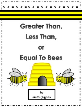 Greater Than, Less Than, or Equal To Bees
