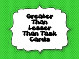 Greater Than, Lesser Than, and Equivalent Task Cards