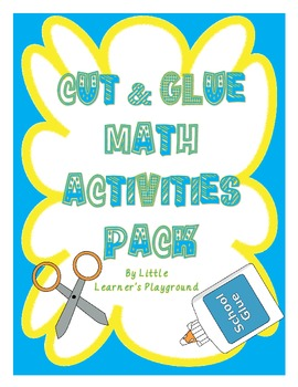 Cut & Glue Math Activities Pack