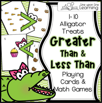 Greater Than and Less Than (Cards and Game)