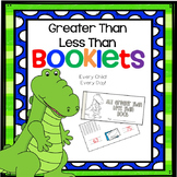 Greater Than and Less Than Booklets