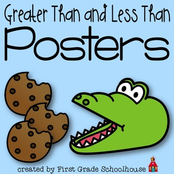 Greater Than and Less Than Posters
