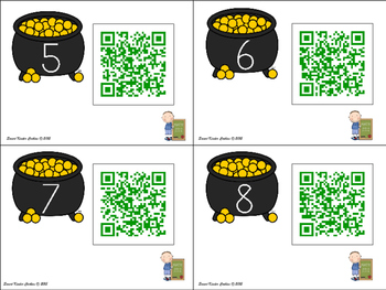 Greater Than and Less Than QR Codes for March