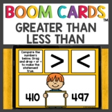 Greater Than or Less Than Boom Cards™ Digital Activities