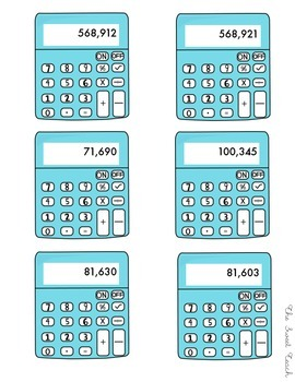 Greater Than or Less Than?  Comparing Numbers to 10,000,000