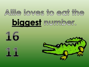 Greater Than or Less Than with Allie the Alligator Parts 1, 2, 3, 4 (Bonus)