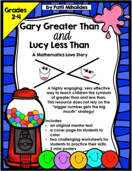 Greater Than/Less Than: Fun with Gary and Lucy, A Mathematics Love Story