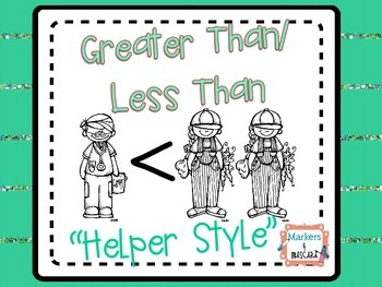 "Greater Than/Less Than  ""Helper Style"""
