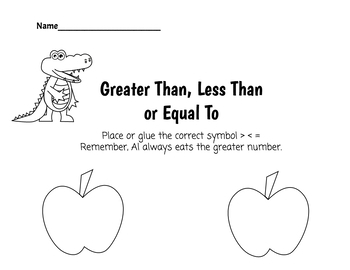 Greater or Less Than