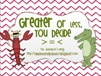 Greater or Less Than, You Decide