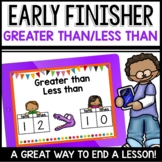 Greater than Less Than | Early Finisher