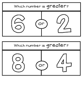 Greater than & Less Than to 10