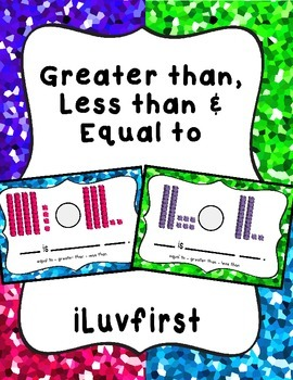 Greater than, Less than & Equal to