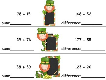 Greater than, Less than, Or Equal to - Leprechaun Math Tub