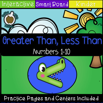 Greater than less than (Comparing Amounts) SMART Notebook