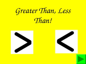 Greater than less than powerpoint