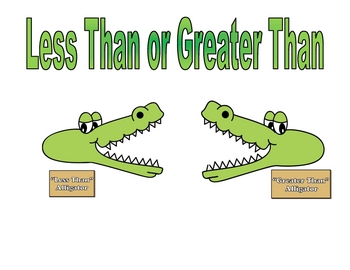 Challenger image inside greater than less than alligator printable