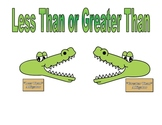 Greater than or Less than Alligators