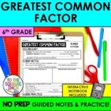 GCF Notes