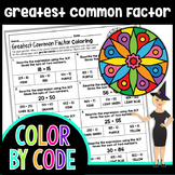 Greatest Common Factor with Distributive Property Math Col