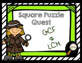 Greatest Common Factor (GCF) & Least Common Multiple (LCM)