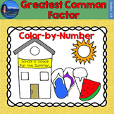 Greatest Common Factor (GCF) Math Practice End of Year Col