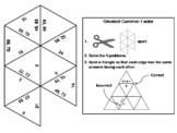 Greatest Common Factor Game: Math Tarsia Puzzle