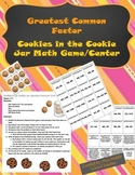 Greatest Common Factor Game/Math Center